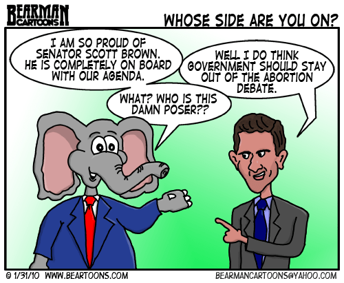 1 31 10 Bearman Cartoon Scott Brown Abortion
