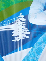 2010 VANCOUVER OLYMPIC SUPER GRAPHIC TREEBRIDGE