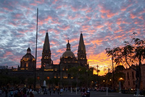 Atardecer y Catedral