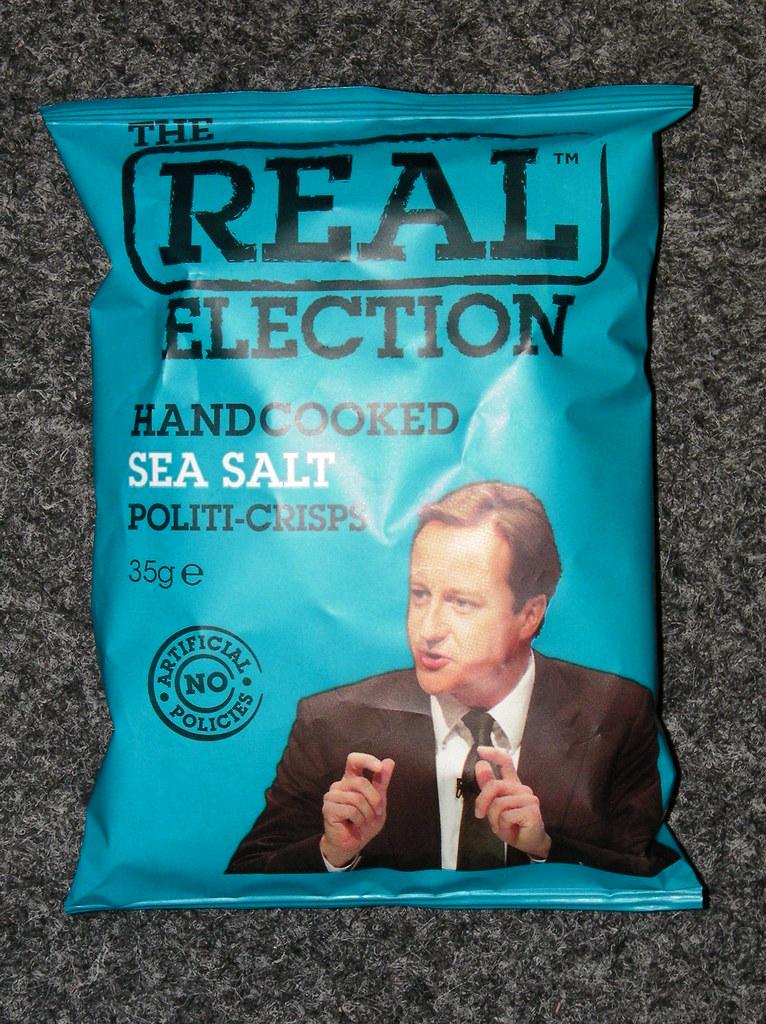 Real Political Crisps-David Cameron