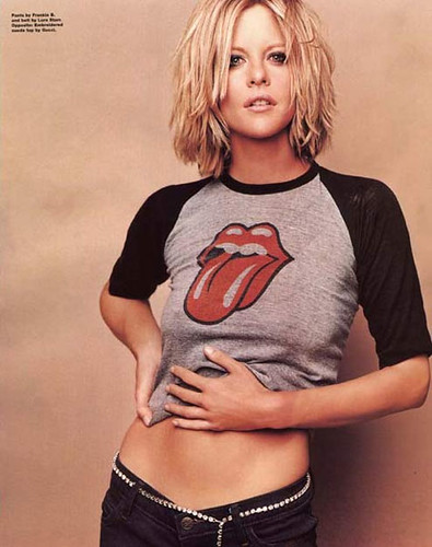 Meg Ryan Rolling Stones