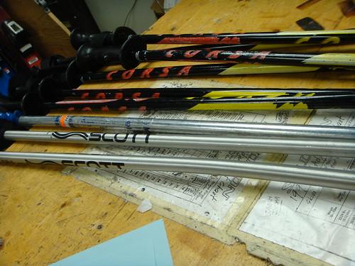 RPI - Bent Ski Poles