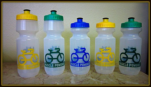 Muscle Powered Water Bottles