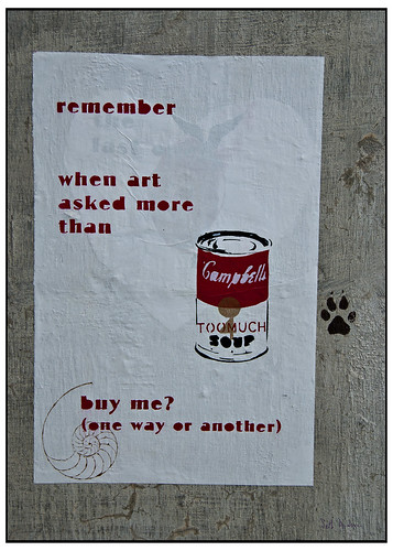 Remember When Art Asked More than buy me?