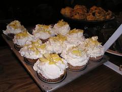 Ambrosia cupcake
