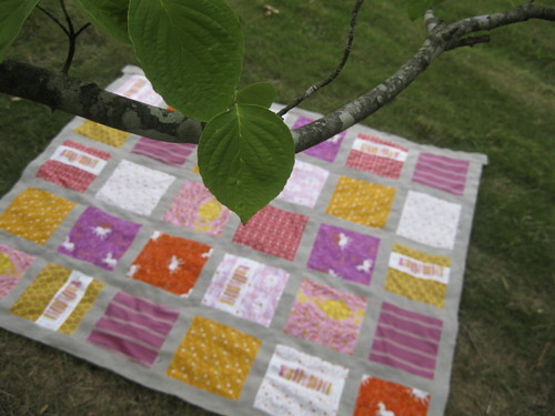 Fairytale Quilt Top from a Tree
