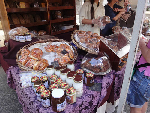 Norton Street Italian Festa: Sweets & preserves from Common Ground Bakery