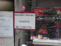 Minimum Wage In Paraguay, one simple figure