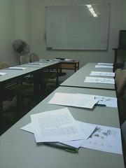 back in class