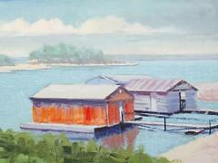 Boathouses - 6x8