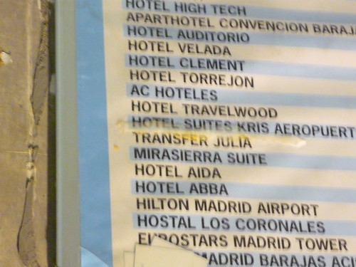 ABBA hotels in Madrid?