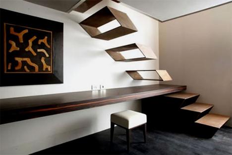 escada geométrica