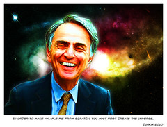 In order to create Carl Sagan from scratch...
