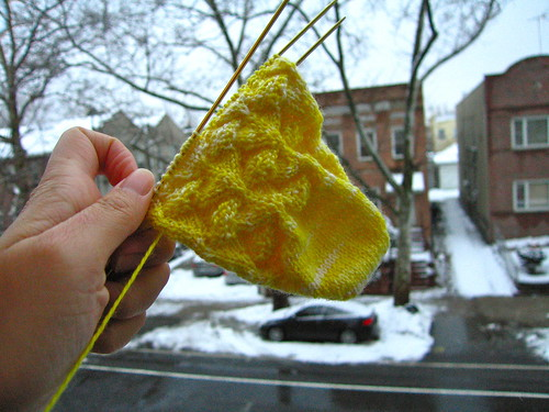 WIP lemon drop socks