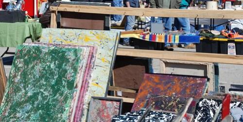 flea market paintings