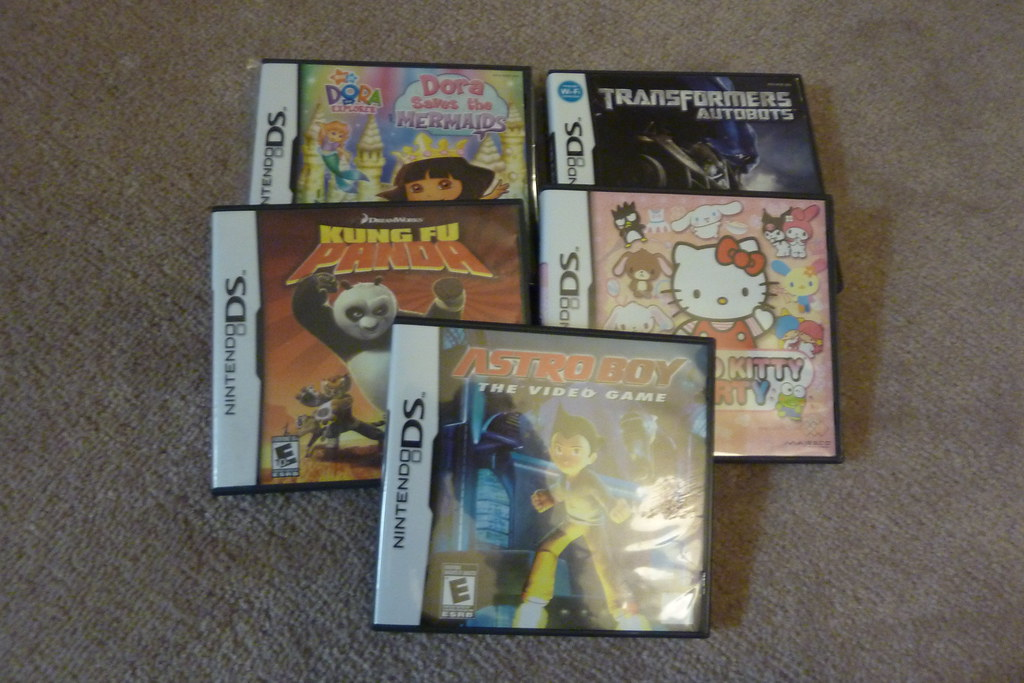 new ds games