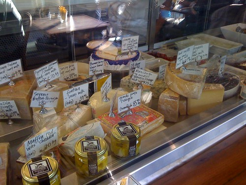 cheese selection - ham cafe