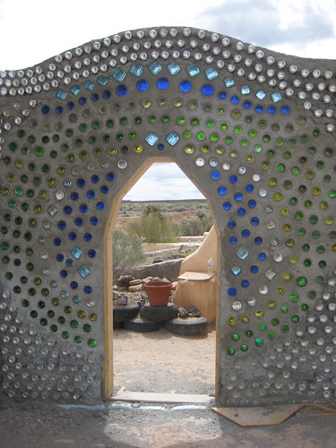 Arch at Earthship