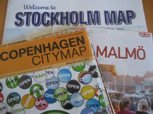 Stockholm, Malmo and Copenhagen