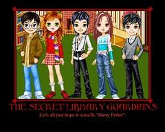 The Secret Library Guardians Poster
