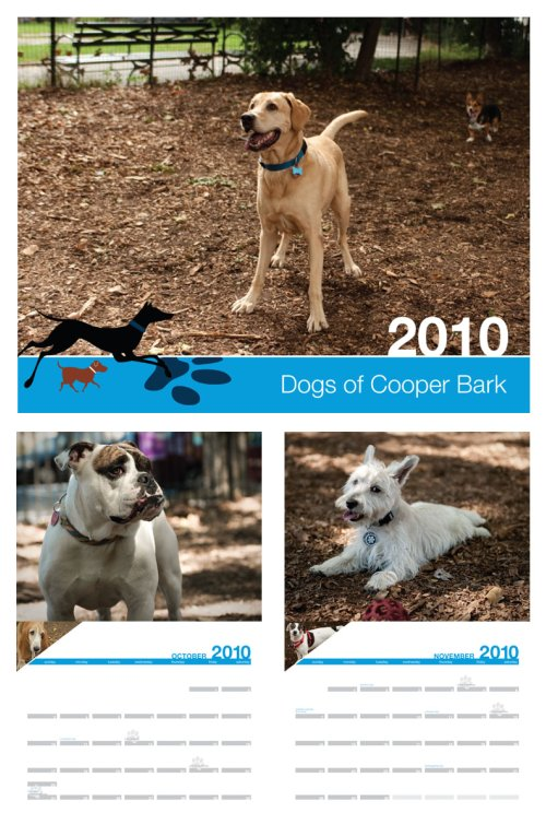 Cooper Bark 2010 Calendar