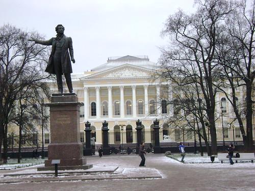 Pushkin and russian museum