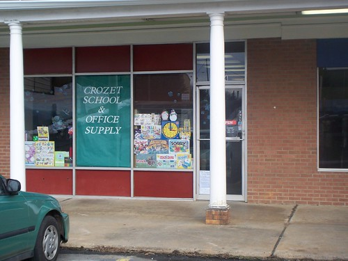 Crozet School and Office Supply store