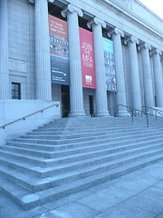 Museum steps