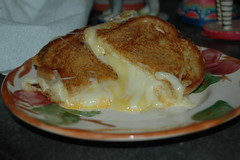 Grilled Five-Cheese Sandwich. With recipe!