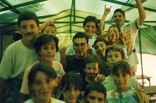 Àlbum Curs 1993-94 i campaments a Saldes'94