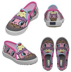 Kid's ice cream cone shoes!