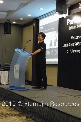 2010 JAN Panasonic Launch Of Lumix G Microsite Sentosa Island Singapore