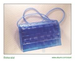 UTSUMI_bolsa_azul