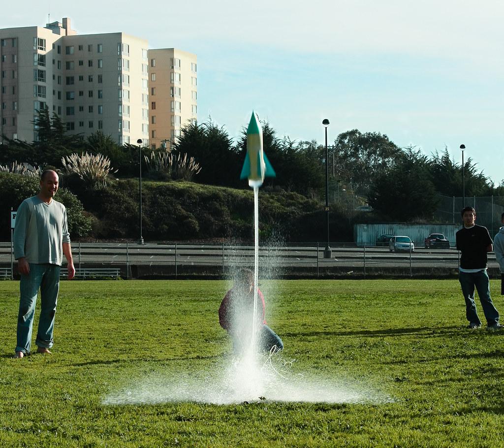 Physics Standalone Rocket Launch