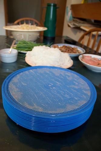 salad roll disks