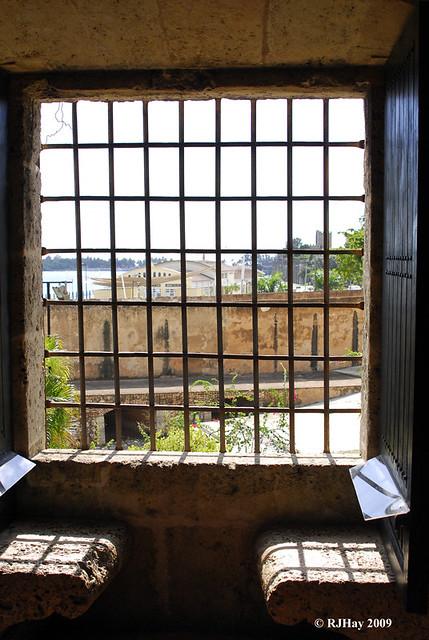 Window seats, Alcazar de Colon (Palacio de Diego Colon), Santo Domingo, Dominican Republic