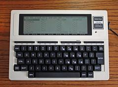 008/365 | Old Tech: TRS-80 Model 100 (Not Y2K+...