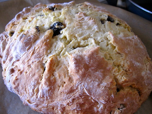 Irish Soda Bread out of the oven!