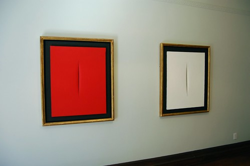 Lucio Fontana, Concetto Spaziale, Attese, 1968...