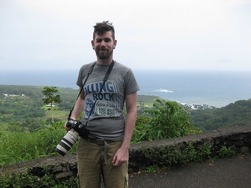 Taylor on the Road to Hana