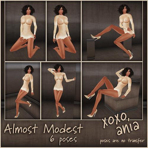 *xoxo ania* almost modest