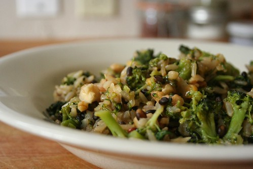 Broccoli and Dill Wild Rice