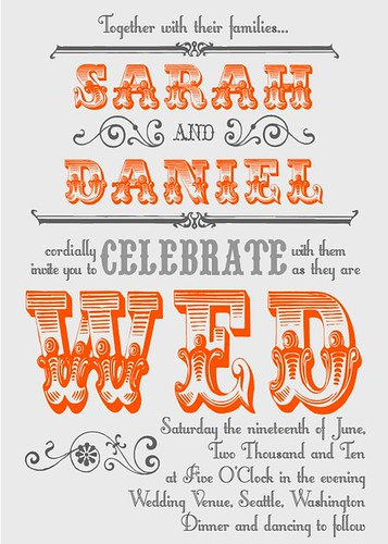 wedding invitations!