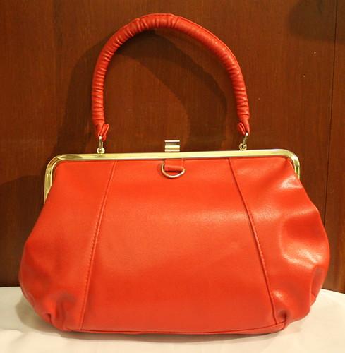 Vintage Handbag Red Doctors