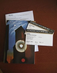 Program guide & tickets opera Wake