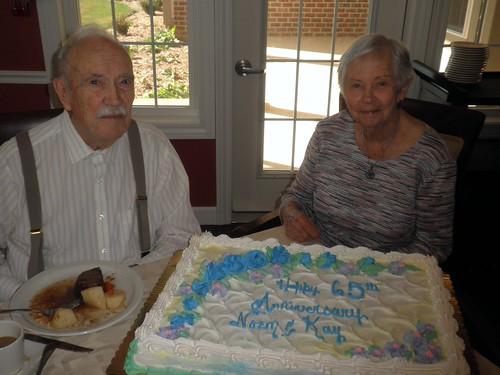 Happy 65th Wedding Anniversary!
