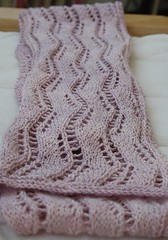 My 3rd Lace Ribbon Scarf