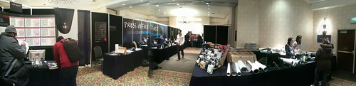 Panorama: the Sundance press office, the nerve center of the festival