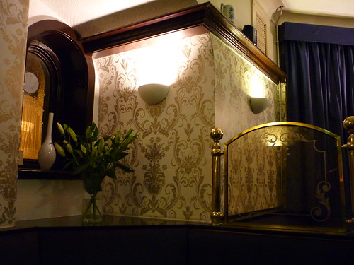 Lovely decor at the Princess Royal