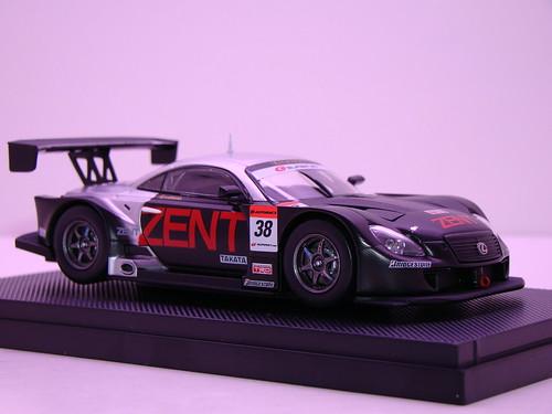 EBBRO ZENT CERUMO SC430 SUPER GT 2009 OKAYAMA TEST (5)
